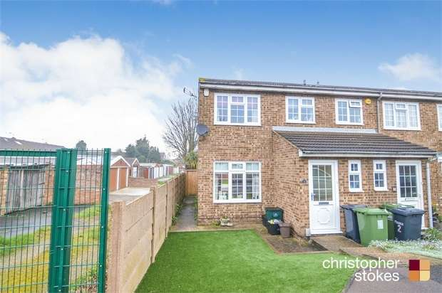 3 Bedrooms Semi Detached House for sale in Marsh Close, WALTHAM CROSS, Hertfordshire