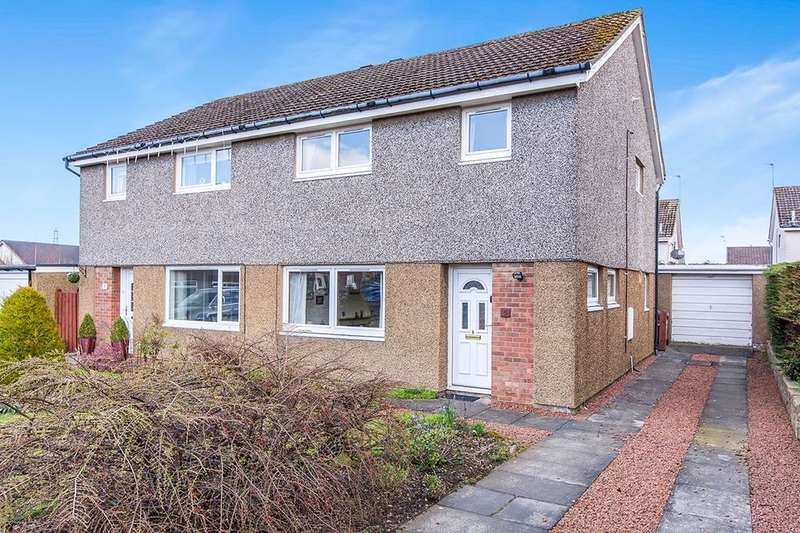 3 Bedrooms Semi Detached House for sale in Martin Grove, BONNYRIGG, EH19