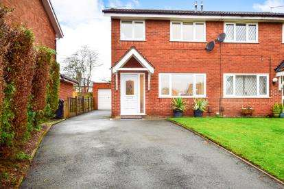 3 Bedrooms Semi Detached House for sale in Mardon Close, Knutsford, Cheshire, .