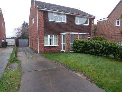 2 Bedrooms Semi Detached House for sale in Aldwych Close, Arnold, Nottingham