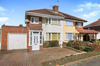 3 Bedrooms Semi Detached House for sale in Lytton Avenue, Wolverhampton, West Midlands