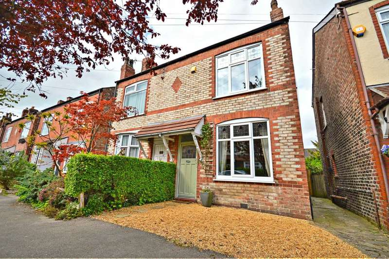 2 Bedrooms Semi Detached House for sale in Seymour Road, Cheadle Hulme