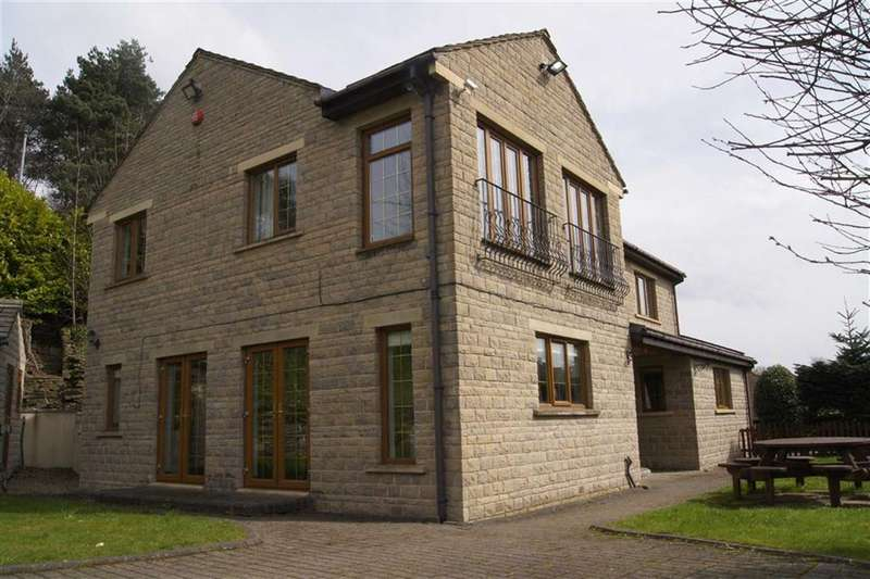 4 Bedrooms Detached House for sale in Upper Brow Road, Paddock, Huddersfield