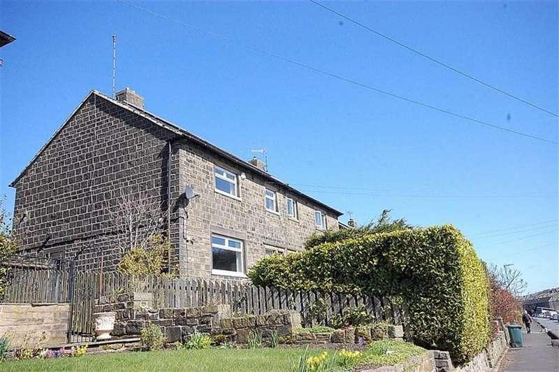 3 Bedrooms Semi Detached House for sale in Dirker Drive, Marsden, Huddersfield, HD7
