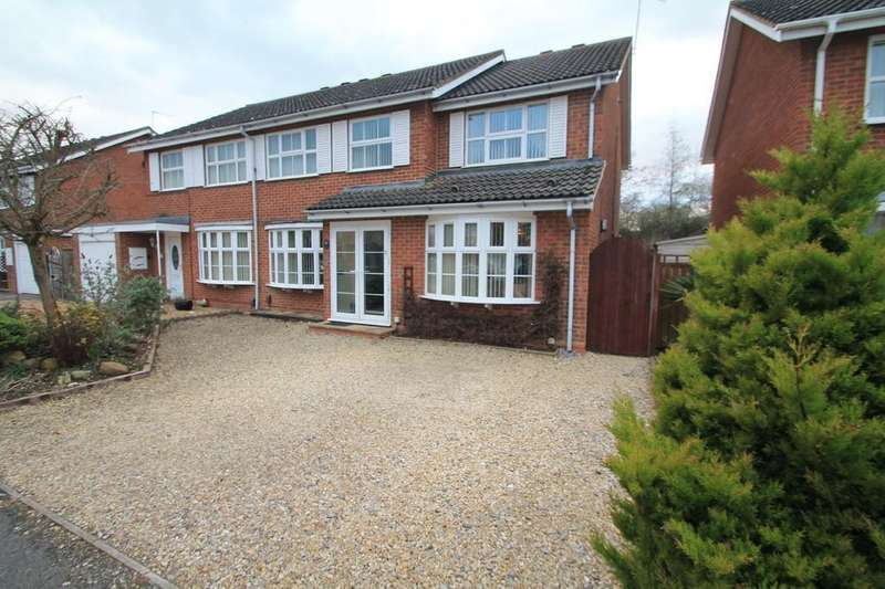 4 Bedrooms Semi Detached House for sale in Dalesford Road, Aylesbury