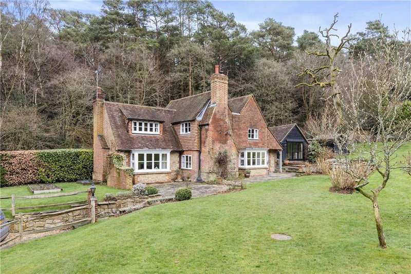 4 Bedrooms Detached House for sale in Abinger Bottom, Abinger Common, Dorking, Surrey, RH5