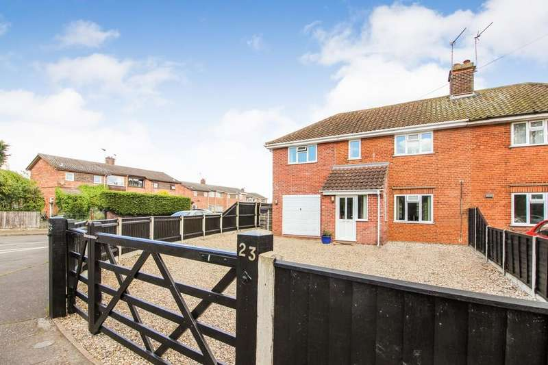 3 Bedrooms Semi Detached House for sale in Station Road, Lingwood, Norwich