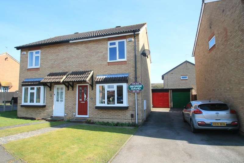 2 Bedrooms Semi Detached House for sale in Lambourne Avenue, Hawkslade, Aylesbury