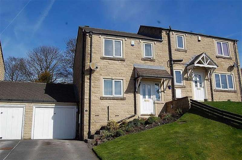 3 Bedrooms Semi Detached House for sale in Field Close, Wheatley, Halifax, HX3