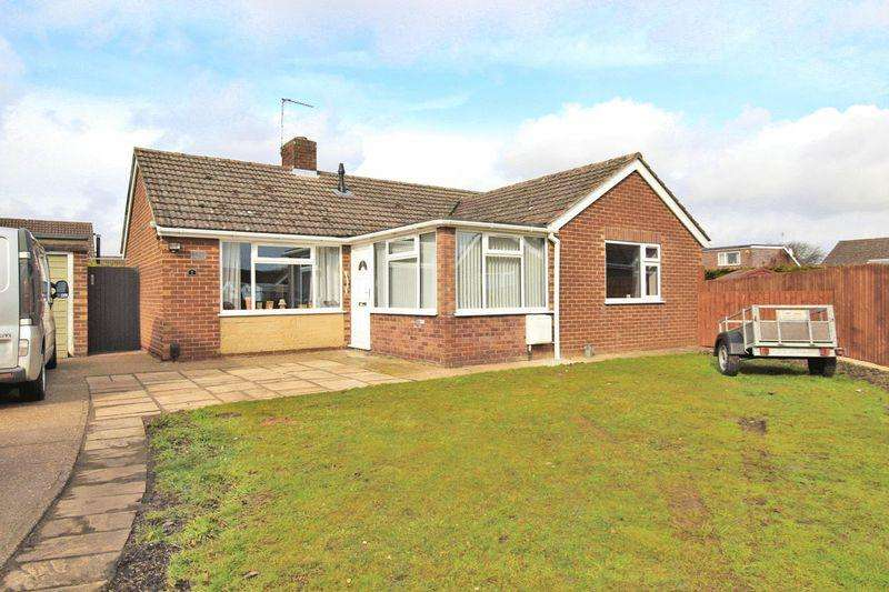 2 Bedrooms Detached Bungalow for sale in St Matthews Close, Cherry Willingham, Lincoln