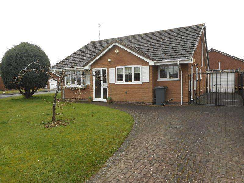 2 Bedrooms Bungalow for sale in Inchford Close, Nuneaton