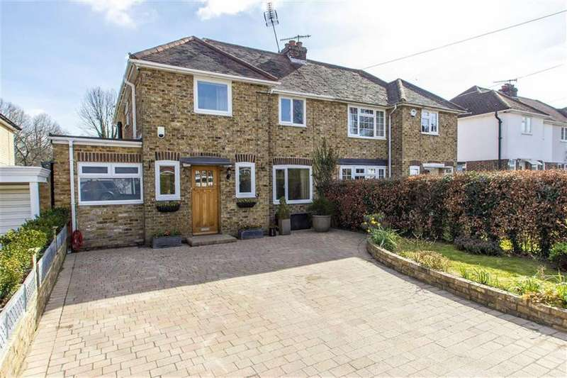 4 Bedrooms Semi Detached House for sale in Broughton Road, Otford, Kent