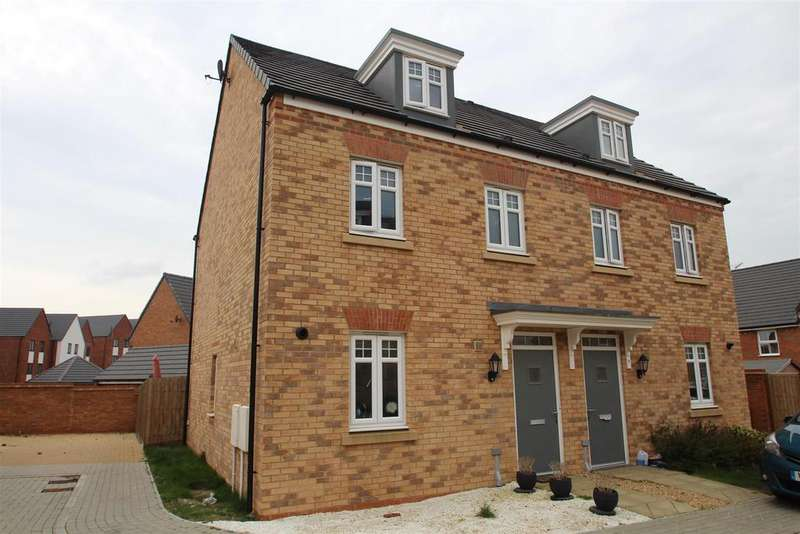 3 Bedrooms Town House for sale in Quintus Close, Fairfields, Milton Keynes