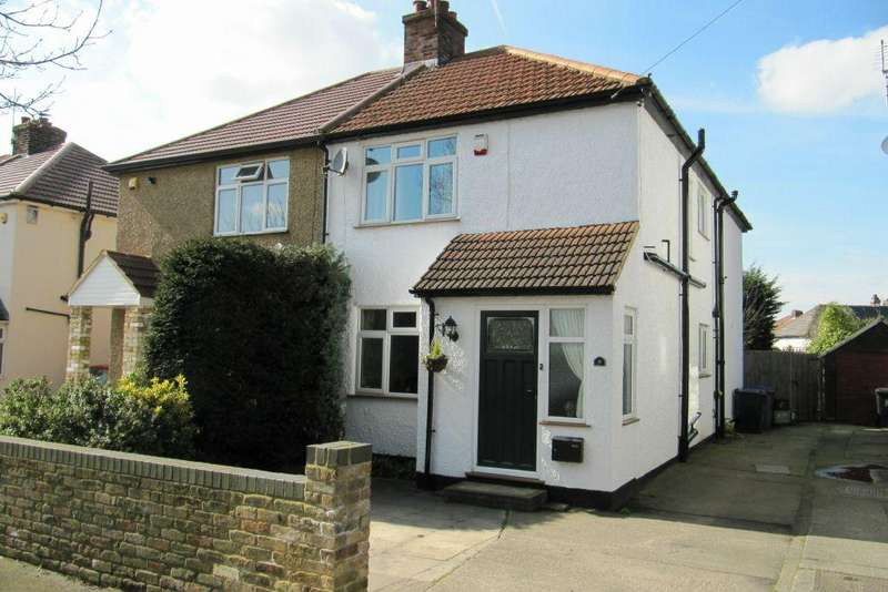 3 Bedrooms Semi Detached House for sale in Leacroft Road Iver SL0 9QP - 3 double bedrooms and large garden
