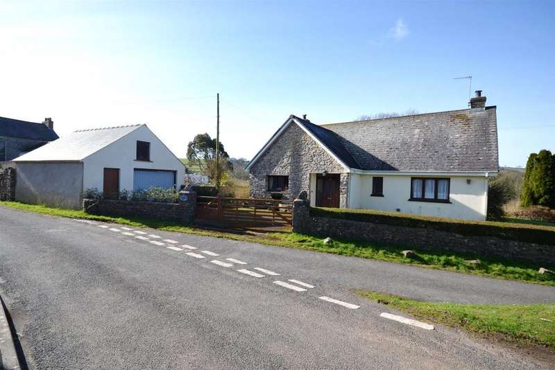 4 Bedrooms Detached Bungalow for sale in St. Florence, Tenby