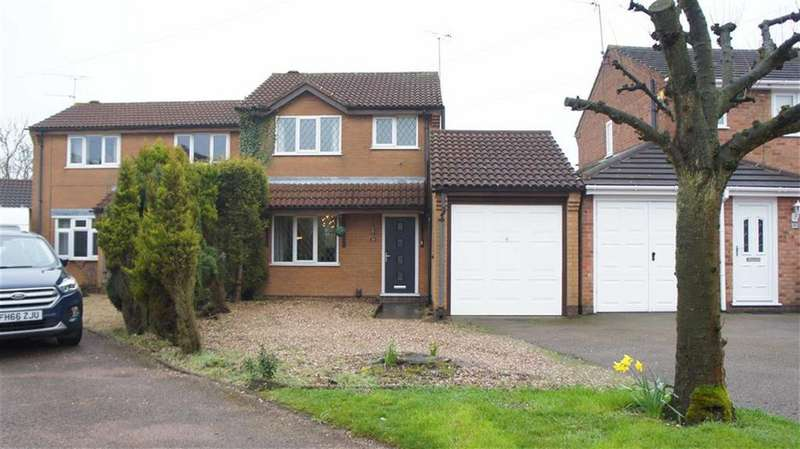 3 Bedrooms Semi Detached House for sale in Lime Avenue, Groby