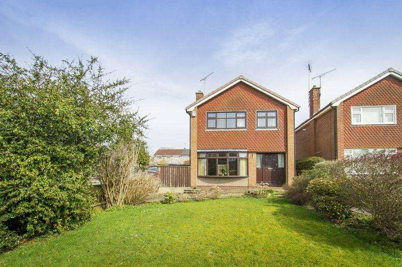 3 Bedrooms Detached House for sale in LOXTON COURT, MICKLEOVER