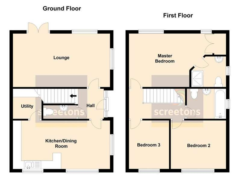 3 Bedrooms Semi Detached House for sale in Off Hoddesdon Crescent, Dunscroft, Doncaster
