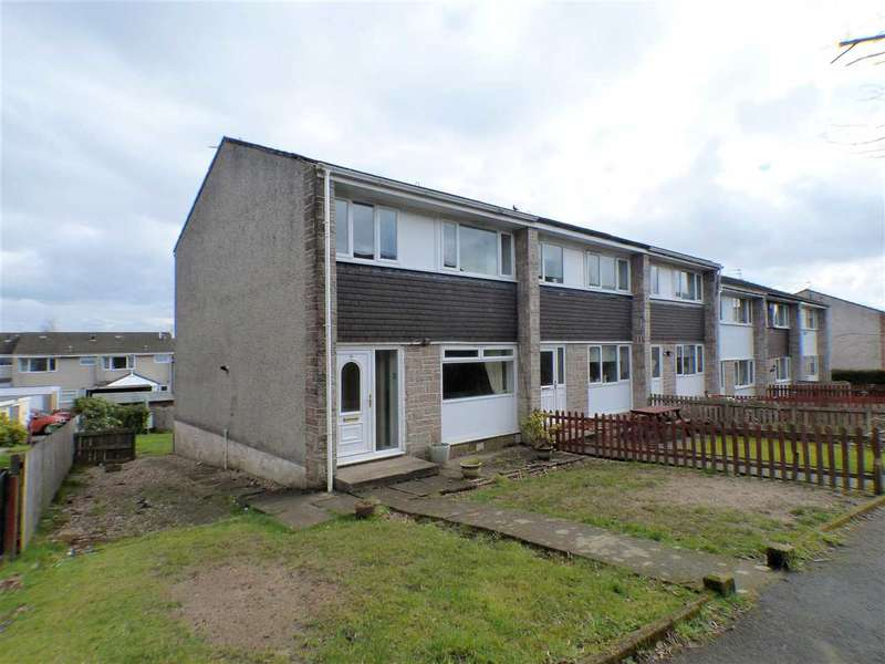 3 Bedrooms End Of Terrace House for sale in Hillend Crescent, Clarkston, GLASGOW