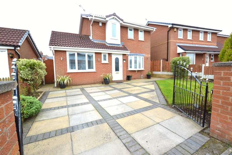 3 Bedrooms Detached House for sale in Kingfisher Drive, St. Helens, WA11