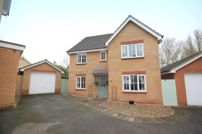 5 Bedrooms Detached House for sale in Joyce Way, Dussindale, Norwich, NR7