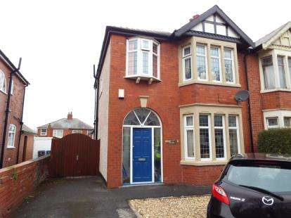 3 Bedrooms Semi Detached House for sale in Harrington Ave, Blackpool, Lancashire, FY4