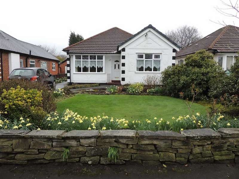 3 Bedrooms Detached Bungalow for sale in Devonshire Road, Hazel Grove, Stockport