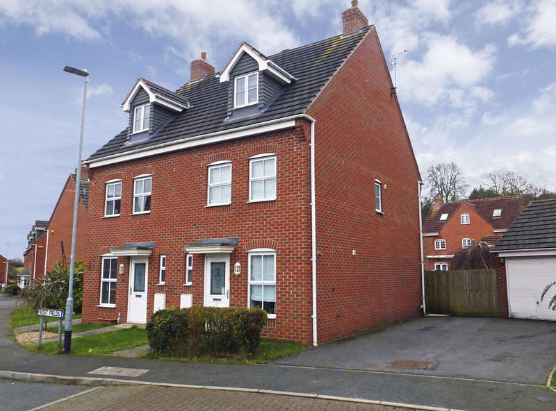 3 Bedrooms Semi Detached House for sale in Frost Fields, Castle Donington