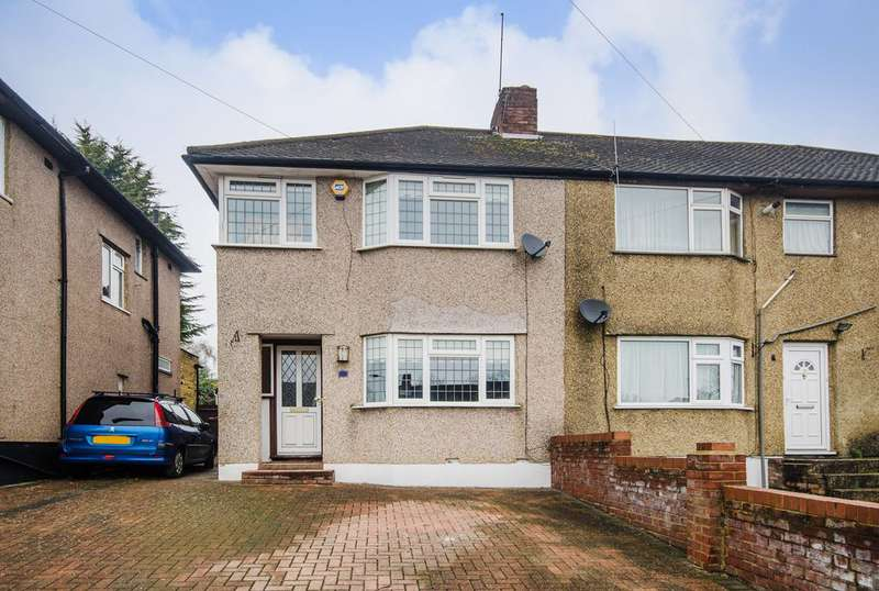 3 Bedrooms House for sale in Long Elmes, Harrow Weald, HA3