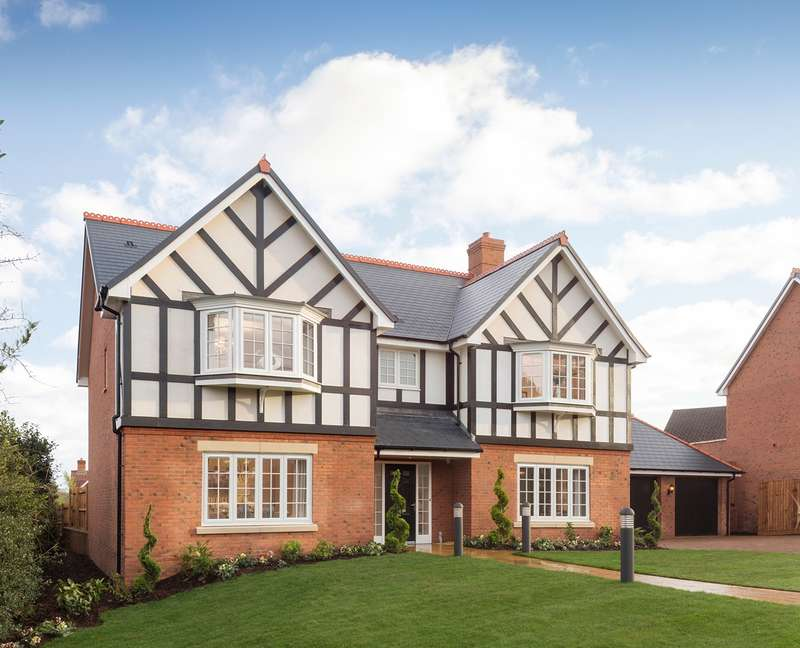 5 Bedrooms Detached House for sale in Foxhills, Barnt Green, Birmingham, B45