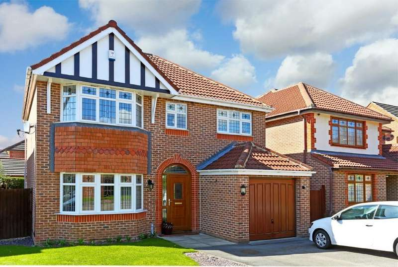 4 Bedrooms Detached House for sale in Howcroft Gardens, Sandal