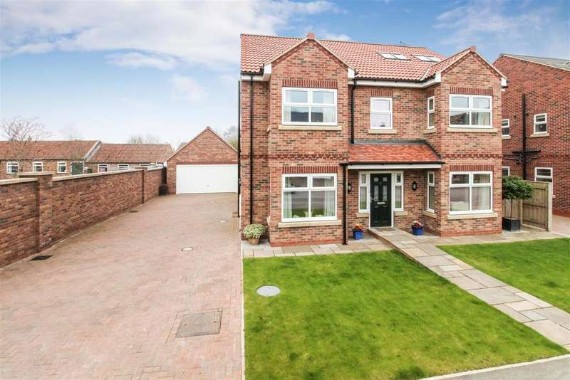 6 Bedrooms Detached House for sale in Williamsfield Road, Cranswick, Driffield