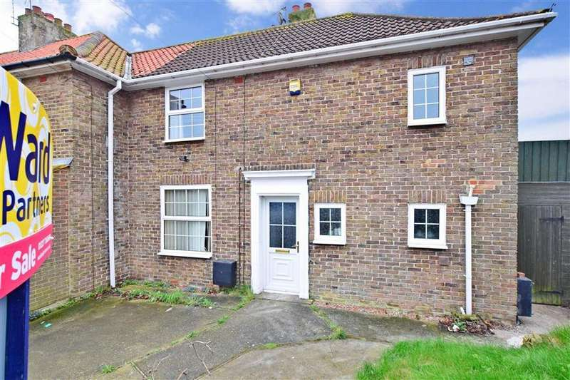 3 Bedrooms End Of Terrace House for sale in Burgess Road, Aylesham, Canterbury, Kent
