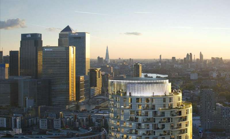 2 Bedrooms Apartment Flat for sale in Charrington Tower, E14
