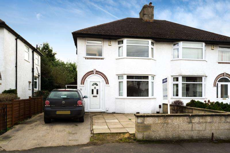 3 Bedrooms Semi Detached House for sale in Mark Road, Headington, Oxford, Oxfordshire