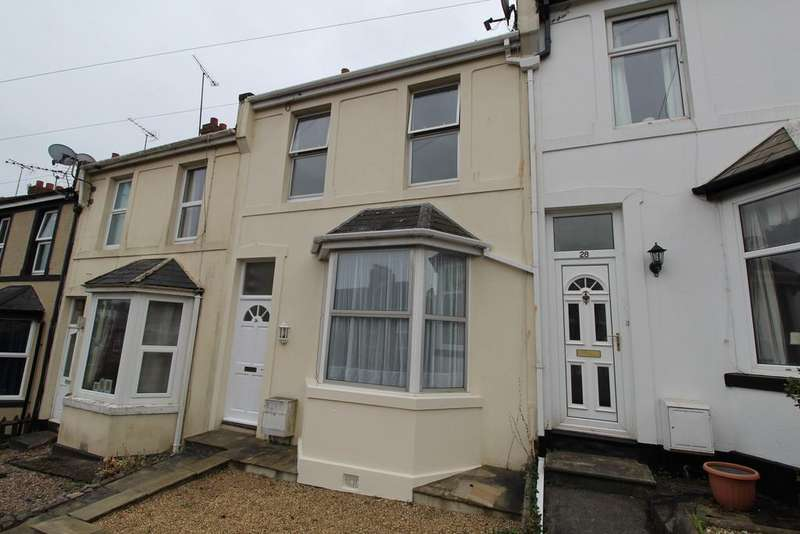 3 Bedrooms Terraced House for rent in Happaway Road, Torquay