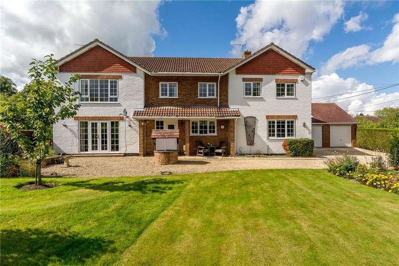 5 Bedrooms Detached House for sale in Chapel Lane, Ashford Hill, Thatcham, Hampshire, RG19