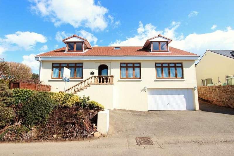 4 Bedrooms Detached House for sale in La Rue de la Corbiere, St Brelade, Jersey, JE3