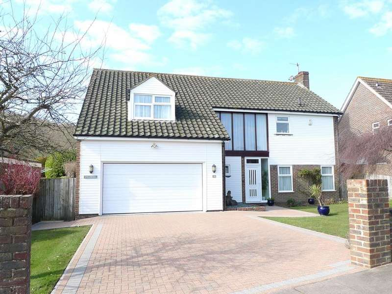 4 Bedrooms Detached House for sale in Compton Drive, Eastbourne, BN20