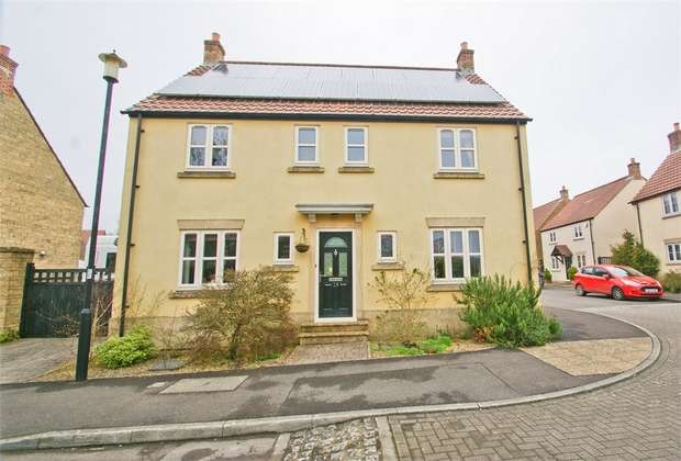 4 Bedrooms Detached House for sale in TADLEY ACRES, SHEPTON MALLET, Somerset