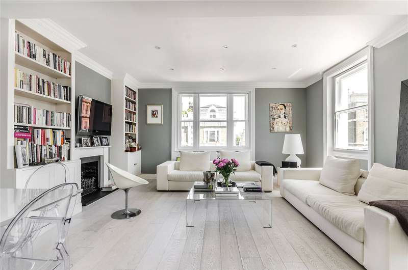 2 Bedrooms Maisonette Flat for sale in Cathcart Road, Chelsea, London, SW10