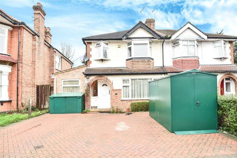 3 Bedrooms Semi Detached House for sale in Woodlands Road, Harrow, Middlesex, HA1