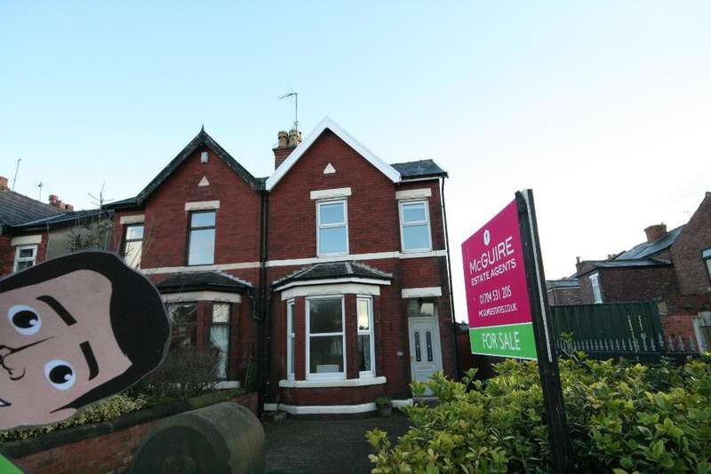 2 Bedrooms Semi Detached House for sale in Heysham Road, Southport, PR9 7EB