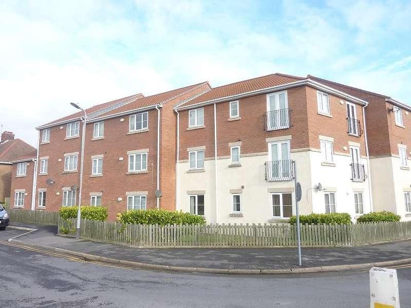 2 Bedrooms Apartment Flat for sale in Flat 13, Queens Court, Warren Road, Hartlepool, Durham, TS24 9DP