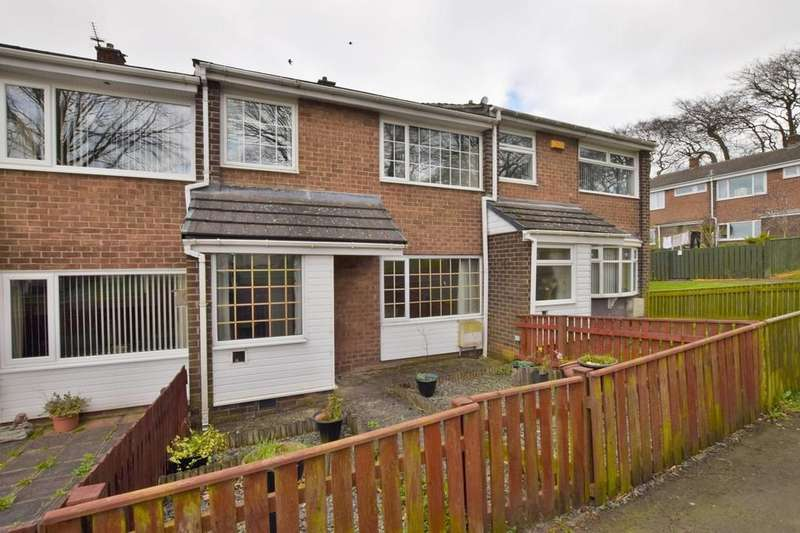 3 Bedrooms Terraced House for sale in Tennyson Gardens, Dipton, Stanley