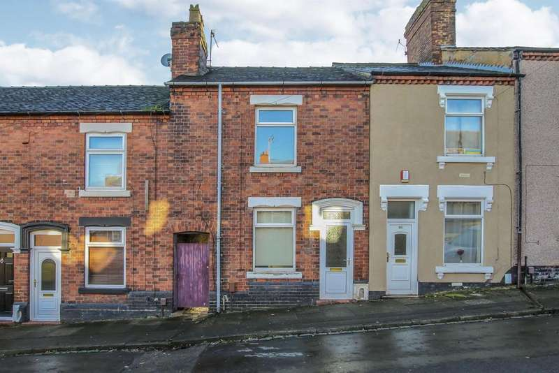 2 Bedrooms Terraced House for sale in Mount Street, Northwood, Stoke-on-Trent, ST1 2NP