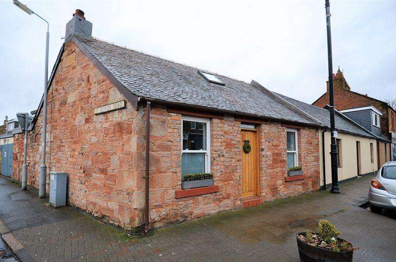 2 Bedrooms End Of Terrace House for sale in 189 Main Street, Prestwick, KA9 1LH