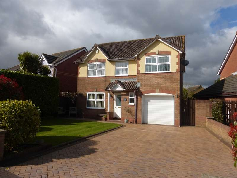 4 Bedrooms Detached House for sale in Water Avens Close, Cardiff