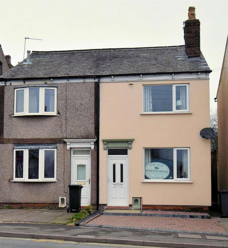 2 Bedrooms Semi Detached House for sale in Congleton Road, Talke