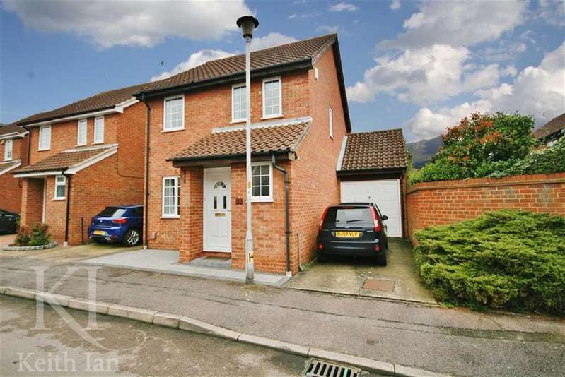 3 Bedrooms Link Detached House for sale in Hollyfields, Turnford